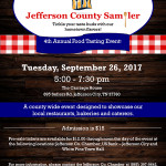 Jefferson County Chamber Sampler 2017 450
