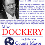 Mike Dockery Mayor Election 09182017