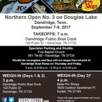 Open Attend Bassmaster Douglas lake Dandridge Boat Dock 1 09012017