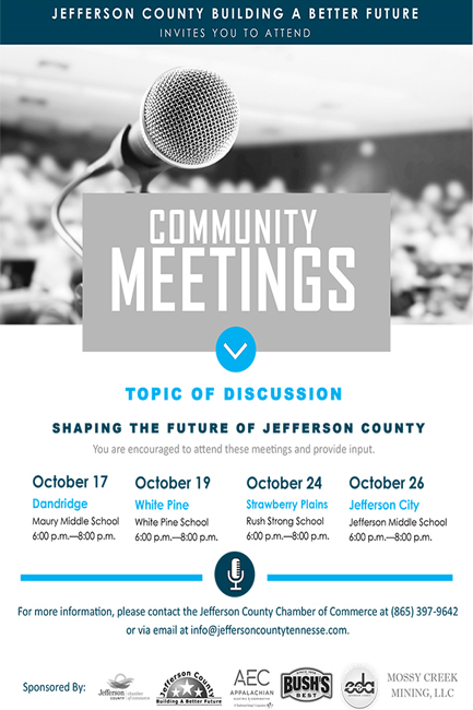 Community Meetings Jefferson County