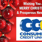 Consumer Credit Union Christmas 2017 Ad