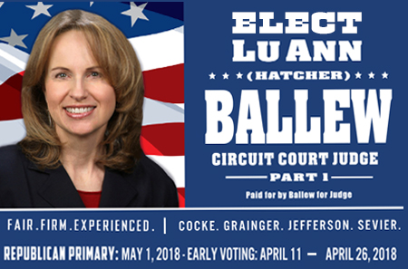 Ballew for Judge 01262018