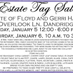 Hardy Estate Sale Ad 01022018