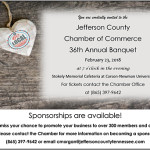 Jefferson County Chamber Of Commerce Banquet 2018