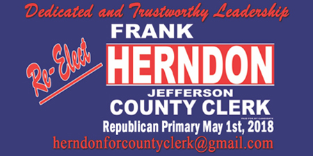 Frank Herndon Re-elect 2018