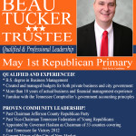Beau Tucker for Trustee Ad 03072018