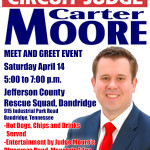 Carter Moore Judge Meet and Greet 041418