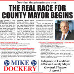 Mike Dockery For Mayor Ad 05102018