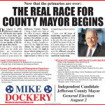 Mike Dockery For Mayor Ad 05172018