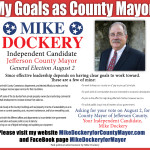 Mike Dockery for County Mayor Goals Ad 060518