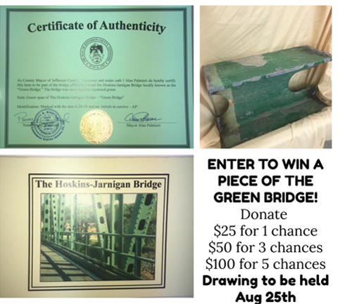 Green Bridge Raffle