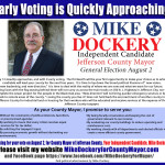 Mike Dockery for County Mayor Early Voting Ad 070618