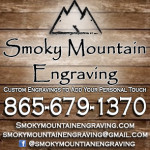 smoky mountain engraving
