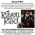 Dandridge Scots-Irish Festival 2018 Raven Reed