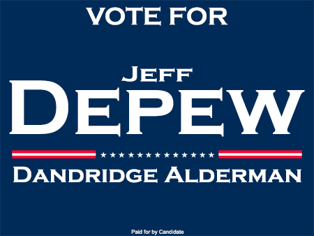 Jeff Depew For Alderman 450