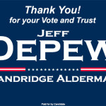 Jeff-Depew-For-Alderman Thank You