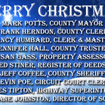Christmas Ad Govt Officials Jefferson County TN 2018