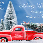 Christmas Red Truck 450 2018