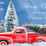 Christmas Red Truck 650 2018
