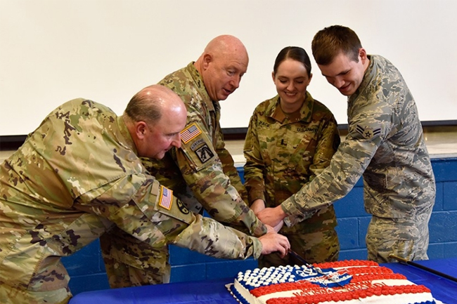 National Guard birthday inside